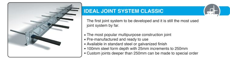ideal joint system
